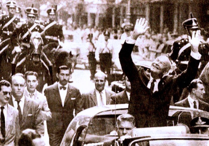 Eisenhower In Buenos Aires - 1960
