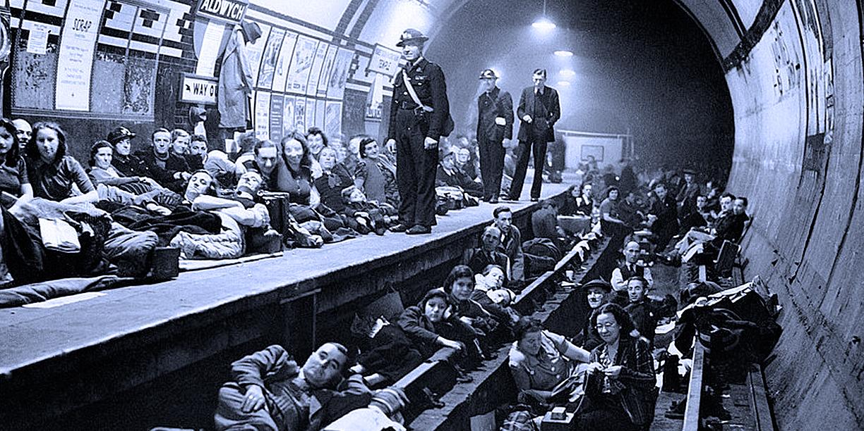 Tube Station Shelter - 1941