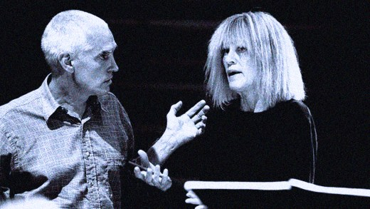 Carla Bley - Steve Swallow - photo by Hyou Vielz
