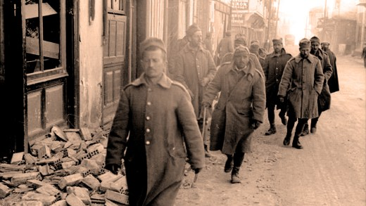 Italian Army prisoners - March 1941