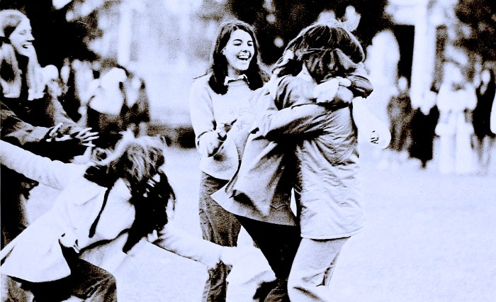 Touchy-feely in the 70s