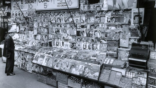 Magazines in the 1950s