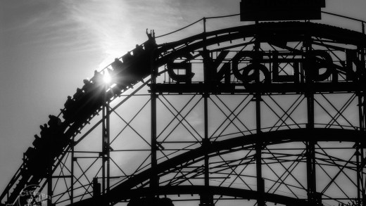 Coney Island - escaping the city - Photo: Peter Bennett