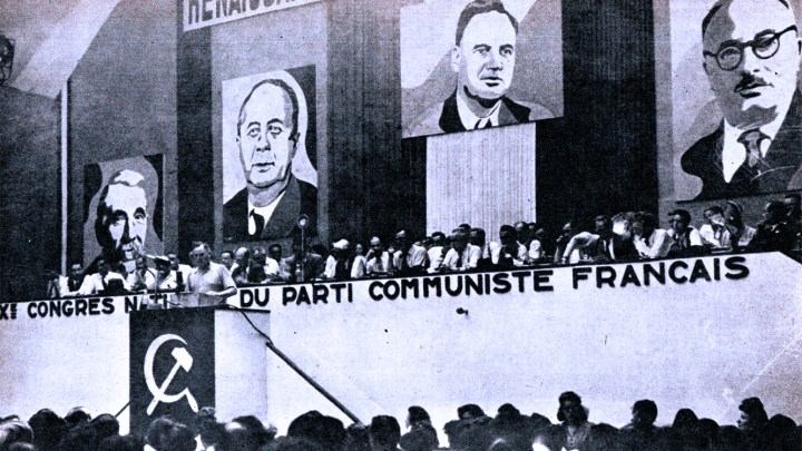 Communist Party Convention in France as view from Moscow