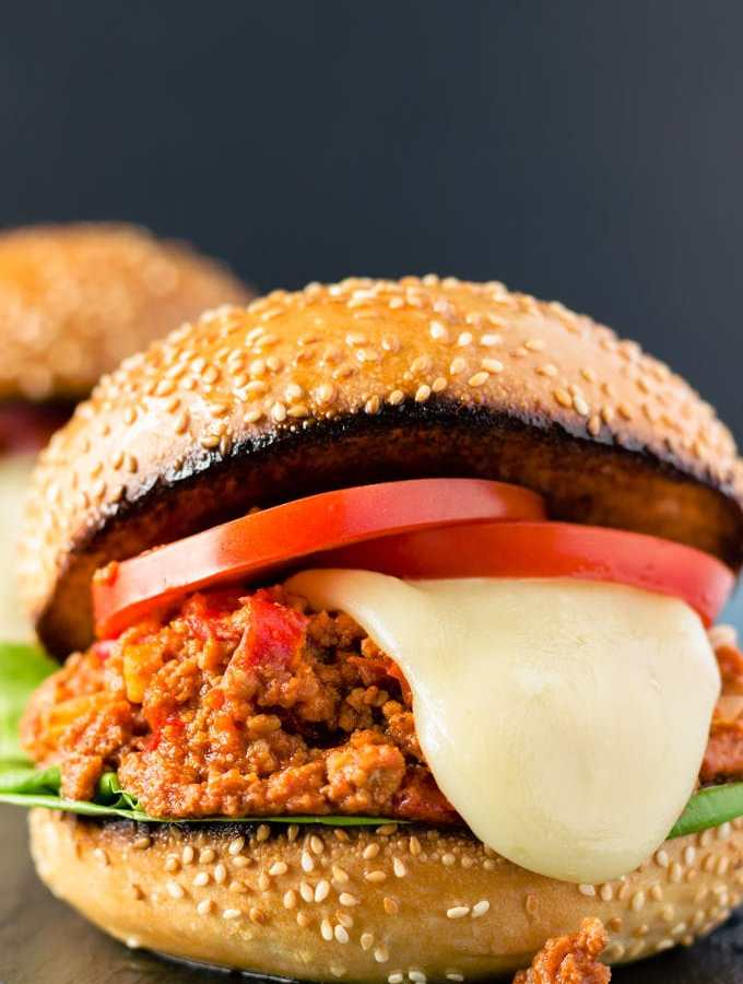 Paleo Sloppy Joes (Clean Eating, Gluten-Free)