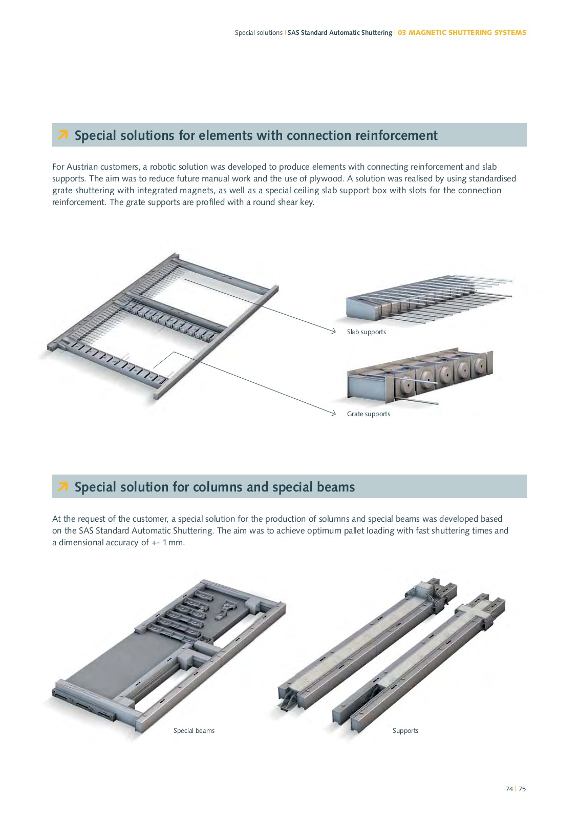 hight resolution of innovation leader with magnetic formwork systems for precast concrete production products product catalogue ratec gmbh