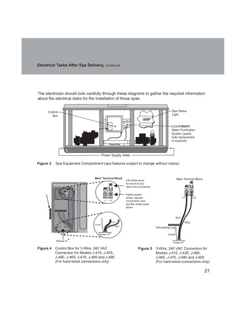 small resolution of jacuzzi electrical wiring