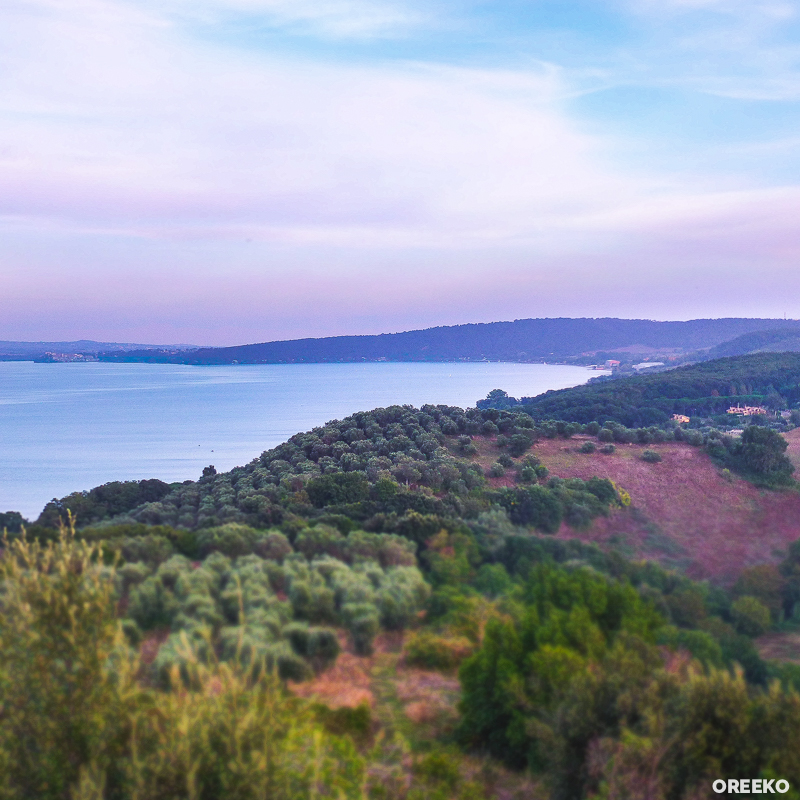 Lago Bracciano, Lazio Italy via oreeko