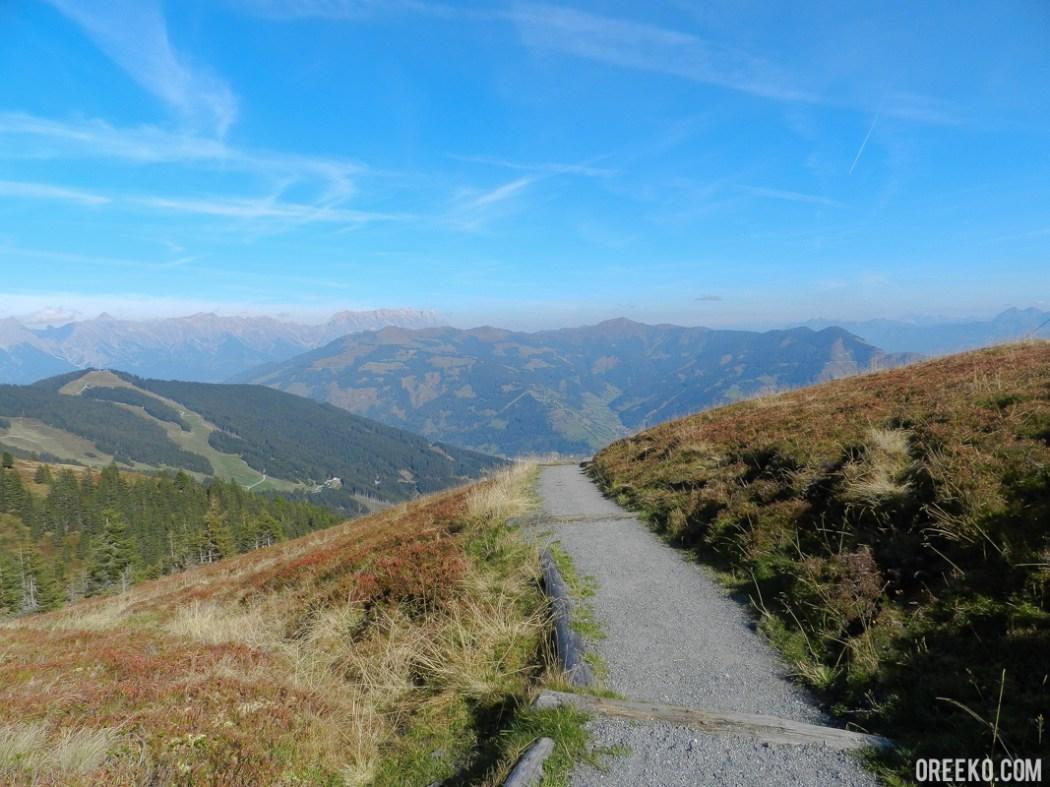 Hinking On the Schmittenhöhe Mountains, Austria (9 of 13)