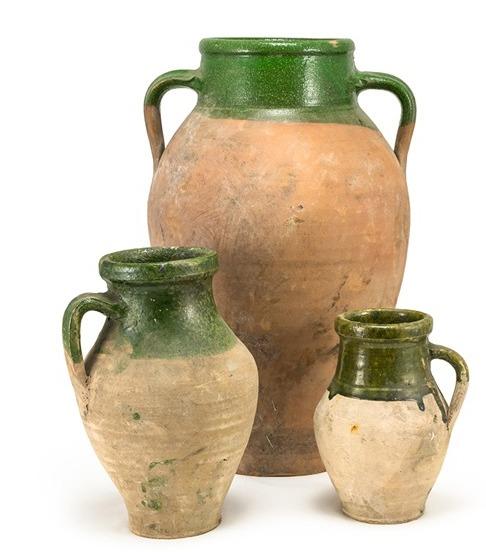 Vintage Olive Jars by bambeco via oreeko