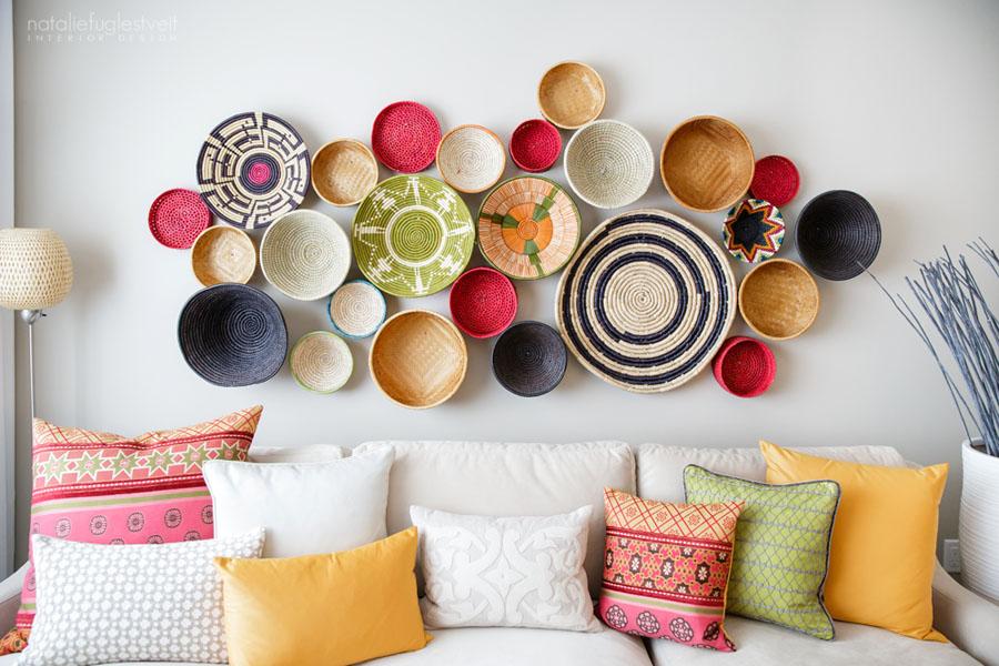 Fair Trade Baskets Wall Decor Conscious Living Tv