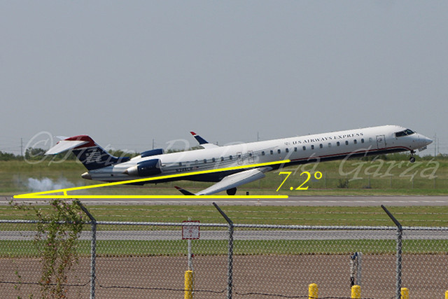 American Eagle CRJ900 scrapes wing on landing  Page 3