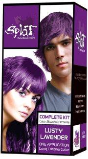 splat rebellious colors purple