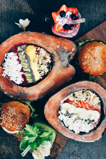 Smoothie bowls should be at the top of a Bali-bound foodie's bucket list.
