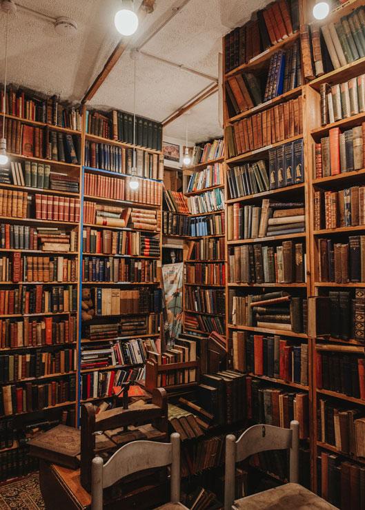 Armchair Books in Edinburgh