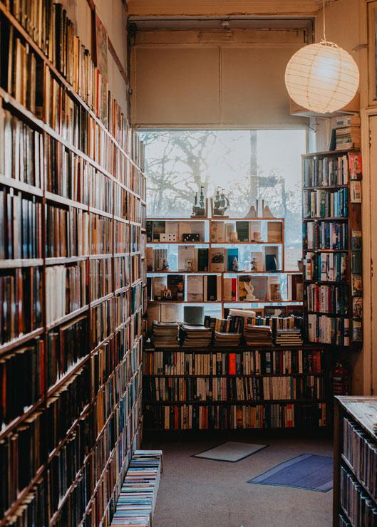 Till's Bookshop in Edinburgh