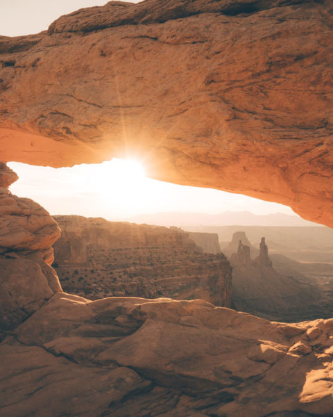 a photo by Jack Crosby of sunrise in Canyonlands National Park, Utah