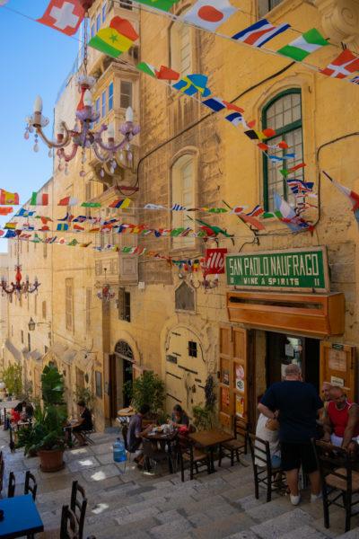 side street in valletta malta, an alternative summer destination