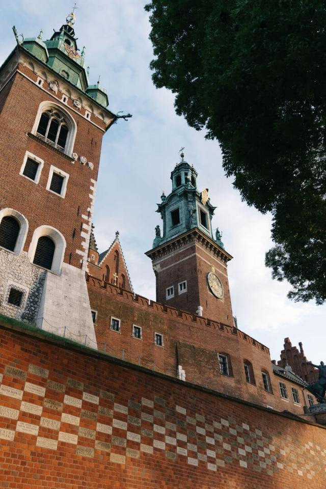wawel castle in krakow poland