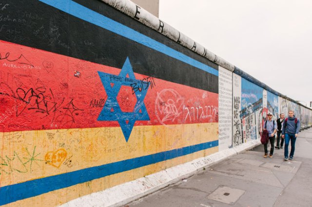 East Side Gallery in our instagram guide to berlin