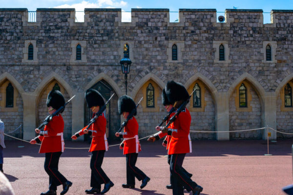 beefeater guards at windsor castle