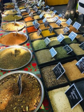 Spices in Arles, France.