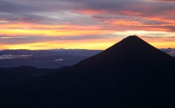 mt fuego sunrise