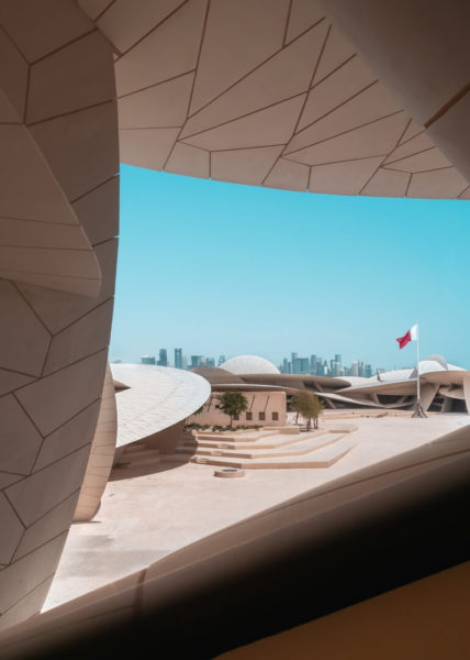 the national museum of qatar in doha