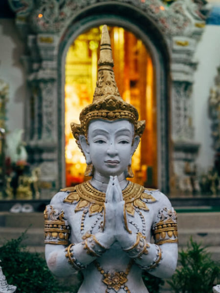 Temple statue in Chiang Mai