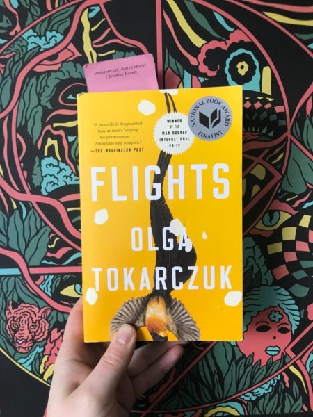 book cover of flights olga tokarczuk