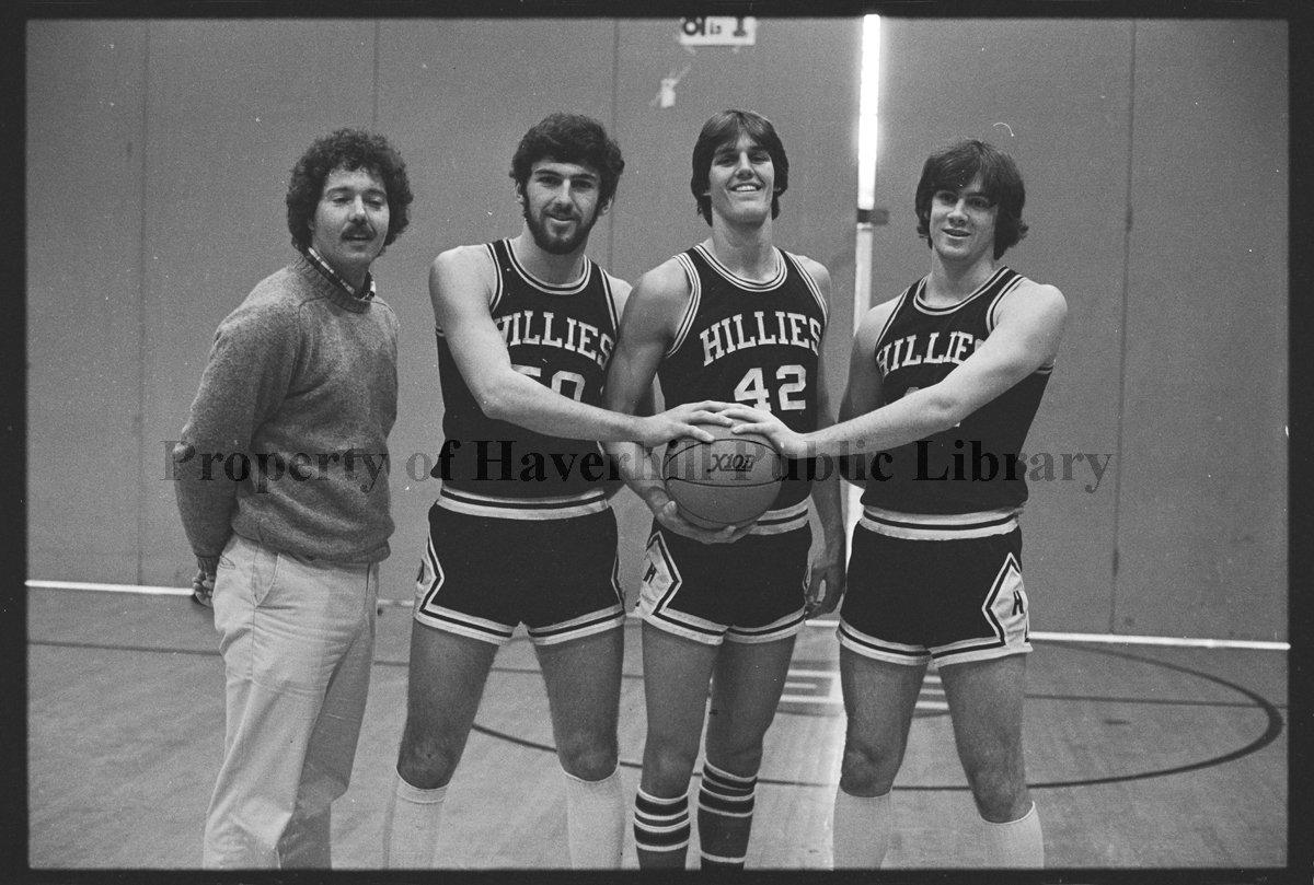 Haverhill High School Basketball Team. Hillies. 1980 - Negative. Roll Film