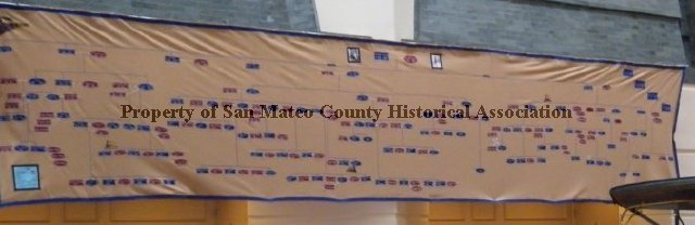 2010174001 Crocker Family Tree Banner 2010 Wall