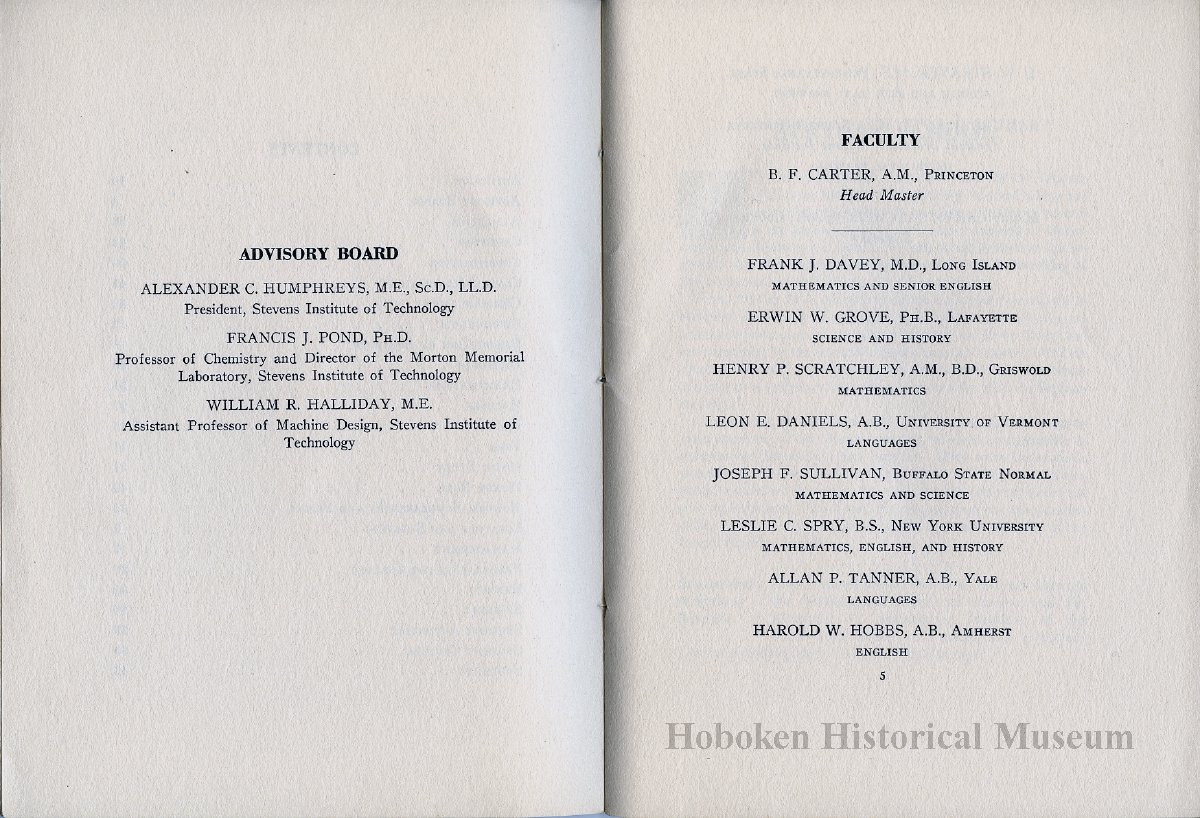 Catalog / yearbook: Stevens School. June, 1922. 6th St. at