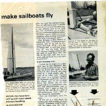 John Bond Marine 1 Typhoon Boat Sketch WM Atkin
