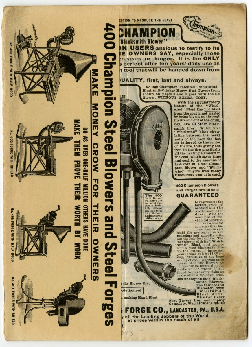 Champion Blower And Forge Company No 40