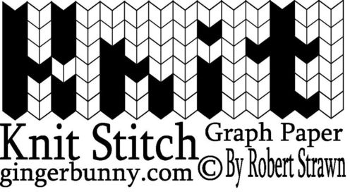 graphic regarding Printable Knitting Graph Paper referred to as Software Tuesday Knitting Graph Paper Â« Knitted Needs Crocheted