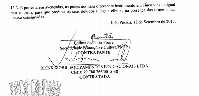 edilma3 - Edilma assinou contratos milionários com empresa investigada pela Calvário; VEJA DOCUMENTO
