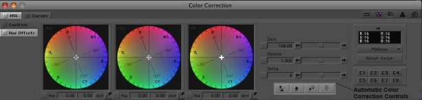 Color correction in Avid Media Composer