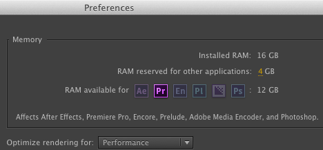 Setting up premiere pro preferences correctly
