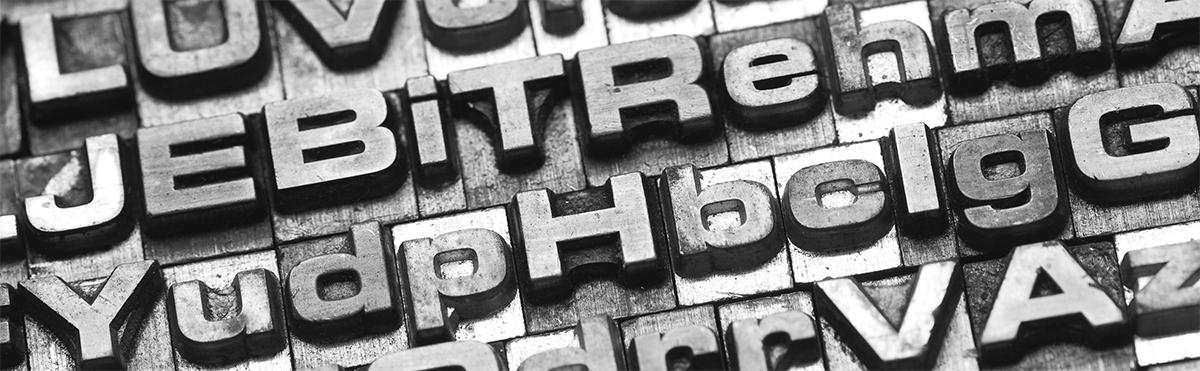 Sans Serif Typography
