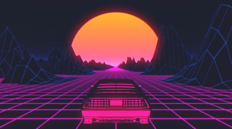 The Visual Styles of the Synthwave and Vaporwave Video