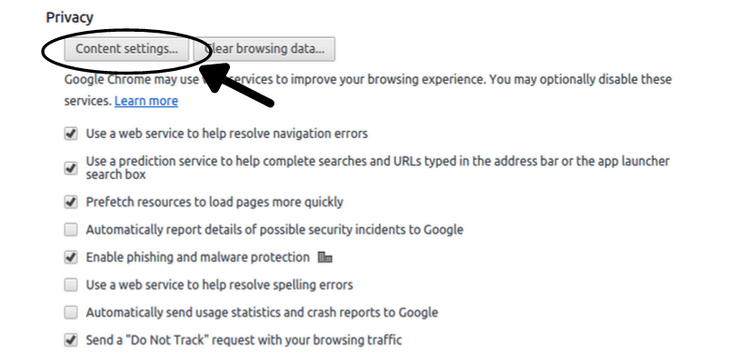how to allow pop-ups on websites