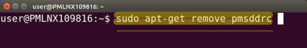 Remove previous DRC version.