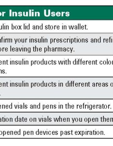Write the date that you opened bottle on   label with insulin pens and their cartridges storage life varies from days to month also medication errors rh pharmacytimes