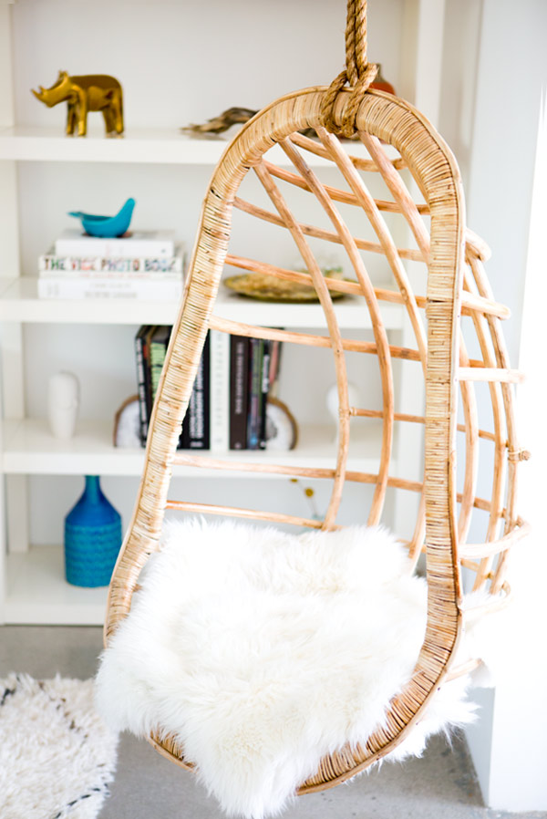 hanging rattan chair burke tulip imagine out in these boho chic chairs hunker