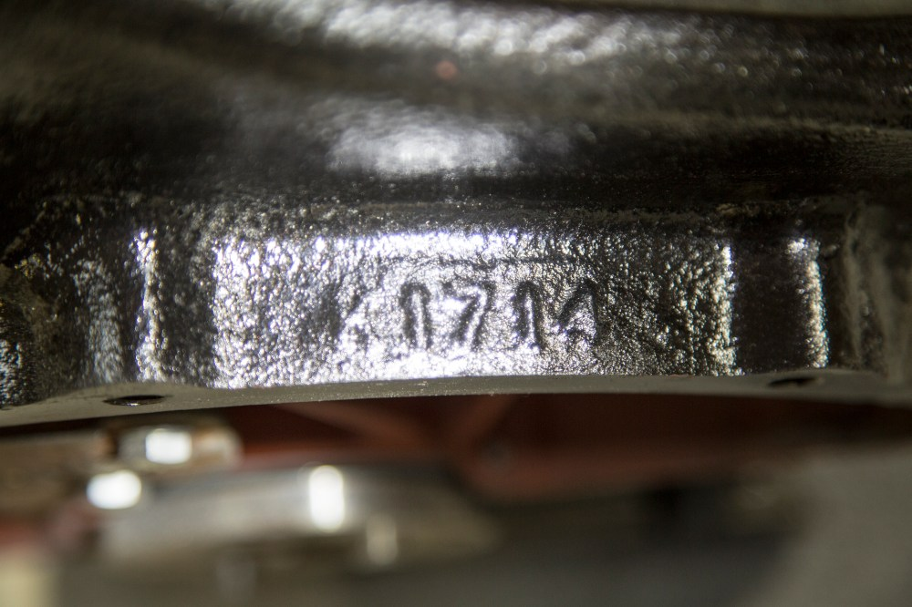 medium resolution of the engine serial number on early flatheads 1948 and below is cast on top of the bell housing the bell housing is where the transmission mounts to
