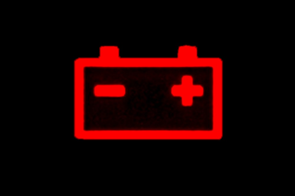 medium resolution of this symbol typically shows an image of a car battery with a plus and minus sign on it when this symbol lights up it indicates that there is a problem