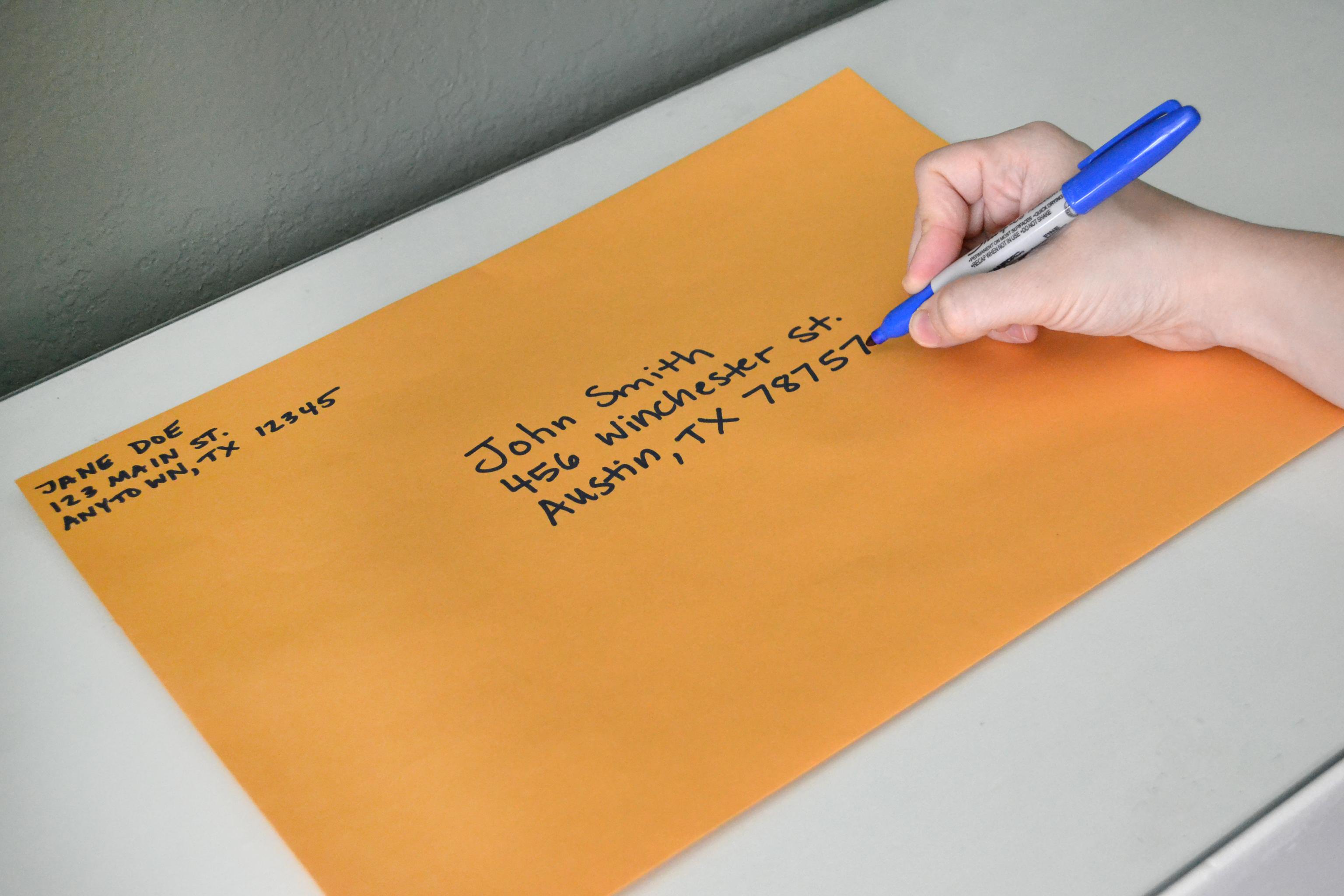 Correct Way Of Writing Addresses On Envelopes Uk