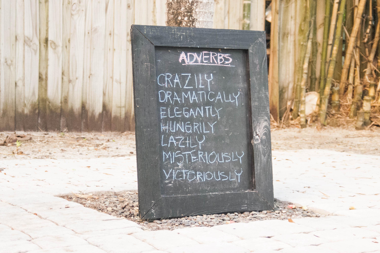 Creative Ways To Teach Adverbs