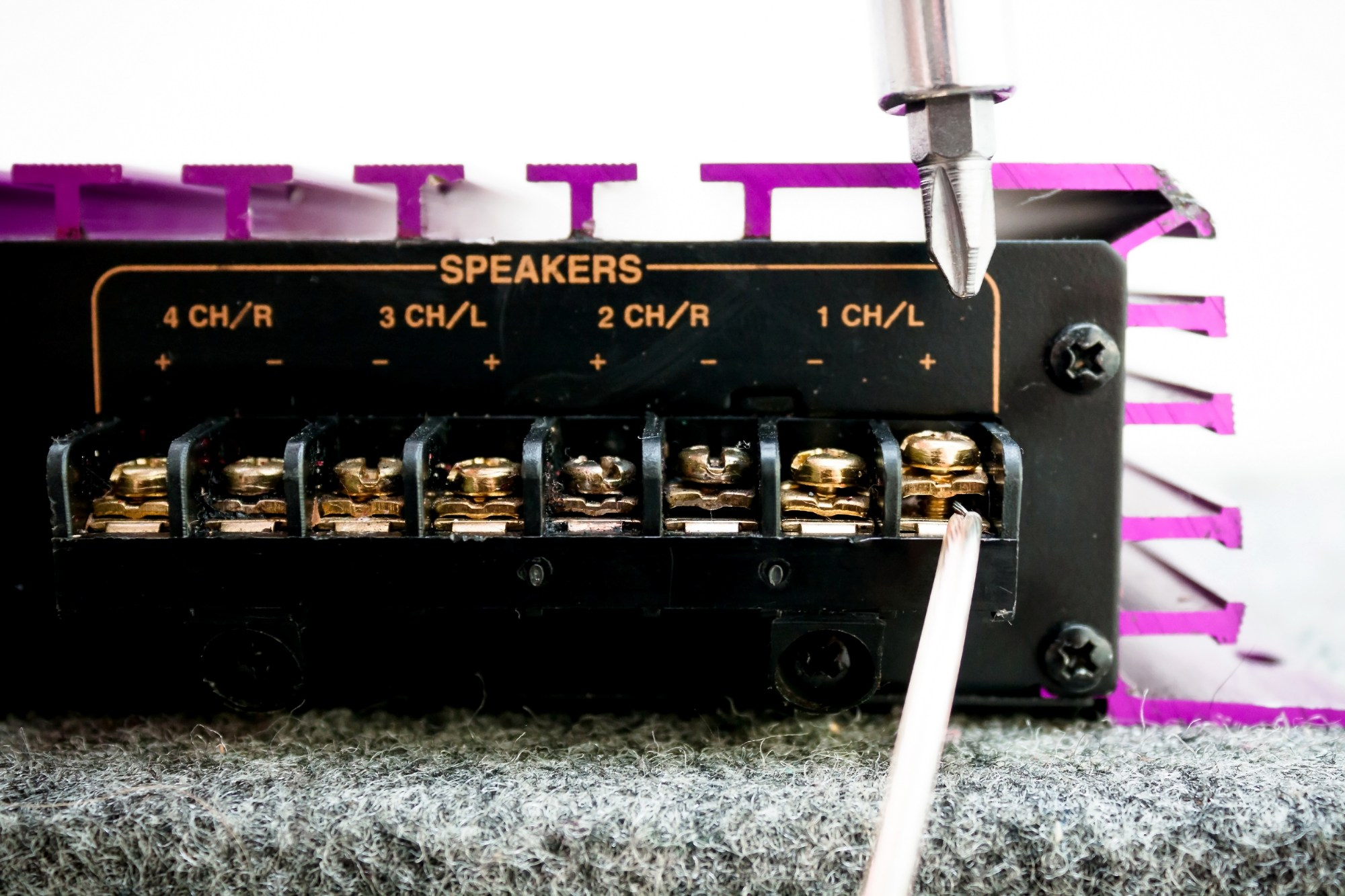 hight resolution of how to bridge a 4 channel amp